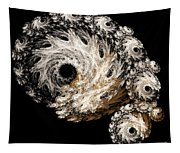 Abstract Seashell Tapestry