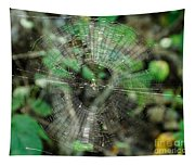Abstract Spider Web Tapestry