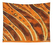 Abstract Tiger Stripes Tapestry