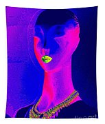 Abstract Woman Tapestry