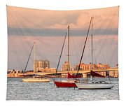 Across The Bay Tapestry