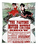 Ad Moving Picture, 1913 Tapestry