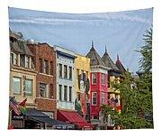 Adams Morgan Neighborhood In Washington D.c. Tapestry