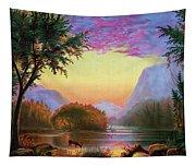 Adirondacks Sunset Tapestry