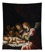 Adoration Of The Angels Tapestry