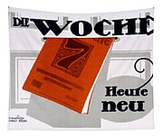 Advert For Die Woche Tapestry