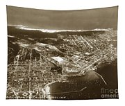 Aerial  Of Monterey Calif. Oct. 25 1934 Tapestry