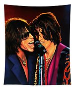 Aerosmith Toxic Twins Painting Tapestry by Paul Meijering