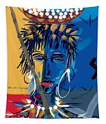 African Beauty 1 Tapestry