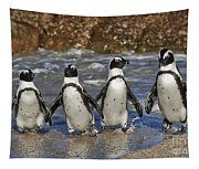African Penguin Tapestry