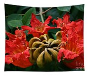 African Tulip Tree Tapestry