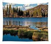 Afternoon At Sprague Lake Tapestry