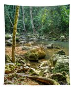 Afternoon In The Jungle Tapestry