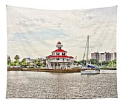 Afternoon On The Water - Hdr Tapestry