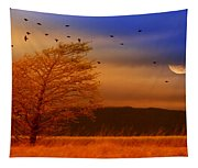 Against The Wind Tapestry