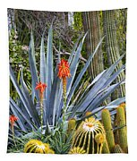 Agave And Cactus Tapestry