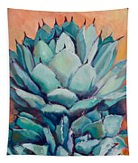 Agave With Pups Tapestry