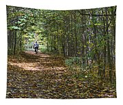 Ahead Of The Pack Tapestry