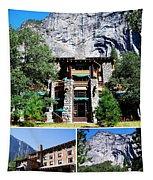 Ahwahnee Hotel In Yosemite National Park Tapestry