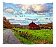 Ah...west Virginia Painted Tapestry