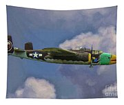 Air Apaches B-25j Tapestry