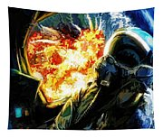 Air To Ground Tapestry