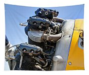Aircraft Engine 3 Tapestry
