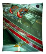 Airplane Vintage Yesterday Tapestry