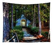 Ajsp Chapel Dry Brush Tapestry