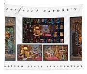 Al Scarface Capone's Cell Tapestry