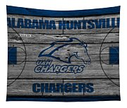 Alabama Huntsville Chargers Tapestry