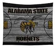 Alabama State Hornets Tapestry