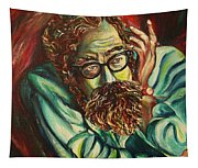 Alan Ginsberg Poet Philosopher Tapestry