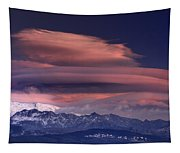 Alayos Mountains At Sunset In Sierra Nevada Tapestry