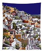 alba a Santorini Tapestry
