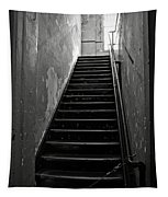 Alcatraz Hospital Stairs Tapestry