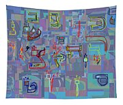 Alef Bais 1f Tapestry