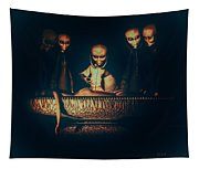 Alien Autopsy Alien Abduction Tapestry