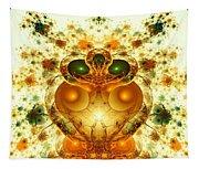 Alien Garden Tapestry