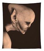 Alien Portrait  Tapestry
