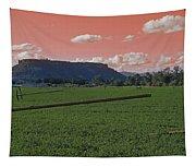 Alien Sky Over Table Rock Tapestry