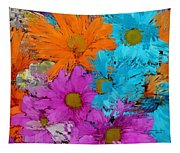 All The Flower Petals In This World 2 Tapestry