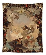 Allegory Of The Planets And Continents Tapestry