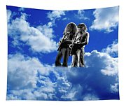 Allen And Steve In Clouds Tapestry