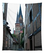 Alley In Schleswig - Germany Tapestry