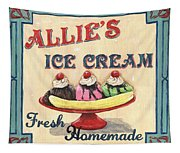 Allie's Ice Cream Tapestry