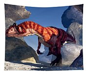 Allosaurus Tapestry
