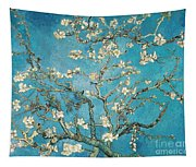 Almond Branches In Bloom Tapestry