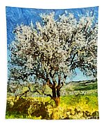 Almond Tree Tapestry