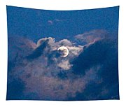 Almost Full Moon Tapestry